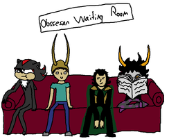 Obsession Waiting Room by ArceusOpener