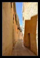 Streets In Mdina City - 1 by skarzynscy