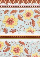 Tablemat Flowers by Qi-lin