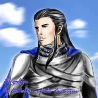 Fingolfin: A Portrait Color by EcthelionF
