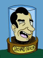 Futurama Nixon by chip14