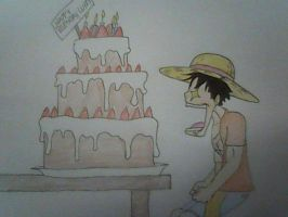 Happy Birthday Luffy! by XfangheartX