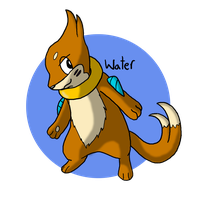 Pokeddex Day 11 - Buizel by Kame-Ghost