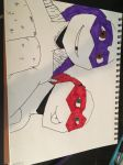 Donatello and Raphael  by captaingiggles5351