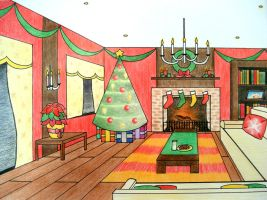 A Room for the Holidays by GraphiteColours