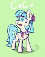 Coco Pommel by ThorinsBlade