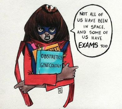 Exams, exams, exams by myscratchesonpaper
