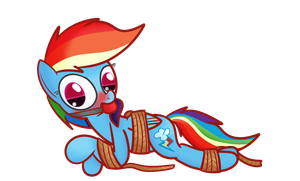 Rainbow Bound and Gagged by Mr-Degration