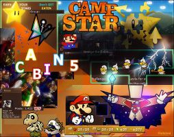 Camp Star Collage by ffadicted
