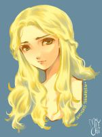 Game Of Throne: Daenerys Targaryen by miychi