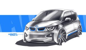 BMW i3 by roobi