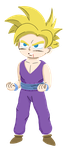Preteen Gohan by TheMediocre