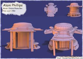 Future Phone Box by AlainPhillips1