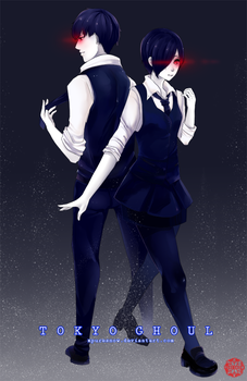 Tokyo Ghoul by xpuresnow