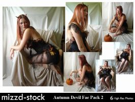 Autumn Devil Fae Pack 2 by mizzd-stock