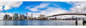 Manhattan Brooklyn Panorama by Nylons
