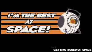 I'm the Best at Space by DigitalDuckie