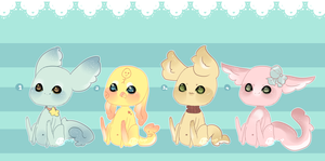 Gummi Shark Puppies 4 .:Closed:. by Pieology