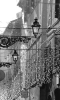 Lights in the Old Street by Mantot