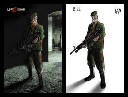 'Bill Left4Dead' by pichulin