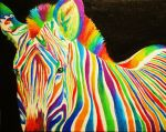 Black, White and Rainbow by Clover7777777