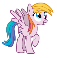 Derpy Hooves in Toola Roola's colors by AdolfWolfed4Life