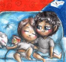 Hannibal chibis - Frederick and Will by FuriarossaAndMimma