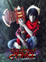Christmas Time with Marshall Lee by SkullBoyThe
