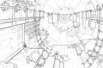 CERN Particle Accelerator Room by ghostcharmer