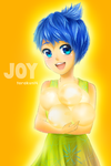 Fanart: Joy Inside Out by torakun14