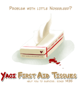 Yaoi First Aid Tissues by Yaoi-World