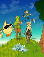 The World of WAKFU by davonne