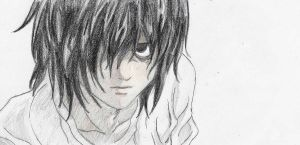 L death note by daisyxmio-chan