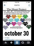The Hearts project October 30th 2014 by animefan12oo