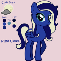Night Cloud. by mo0onbabi