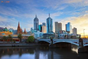 Melbourne by Furiousxr