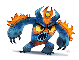 Day 736# Big Hero 6 - Fred by Cryptid-Creations