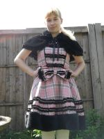 Me with my new Lolita dress by Londonexpofan