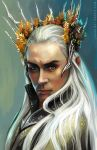 Thranduil the Elvenking by Yuuza