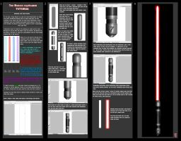 Lightsaber tutorial by AlexanderCasteels