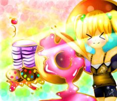 Cookie Donnut Muffin by pancake1124