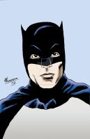 Batman - Adam West Portrait by chrismas-81