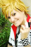 Roxas: Original Smile by ChroniclesofDestiny