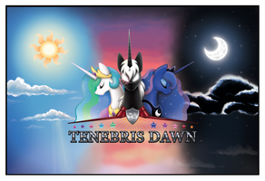 Tenebris Dawn RP Forum Poster Commission by Chasm03