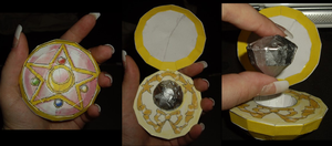 Sailor Moon R Locket by ykansaki