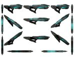 Mass Effect 3, Particle Rifle Reference. by Troodon80