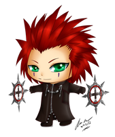 Chibi Axel by Wonderland-Cupcake
