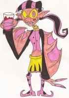 Twisted Toon : Draculaura by DoofenEmpire