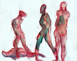 Lying Figures by Hyourin