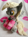Derpy Hooves plush with socks ! by Fallenpeach